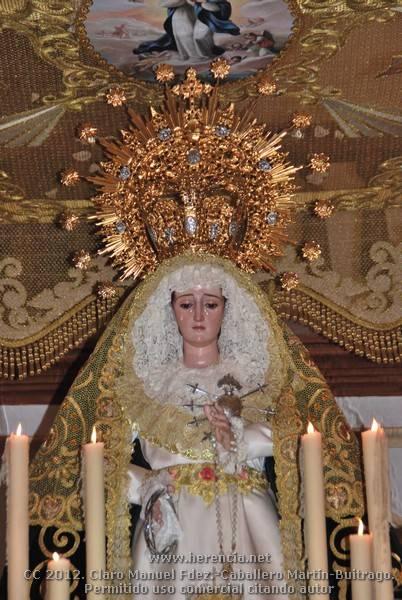 Procesión Virgen de los Dolores 2012