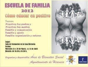 """Escuela de Familia de Herencia celebra el taller """"Cómo educar en positivo"""" 1"""