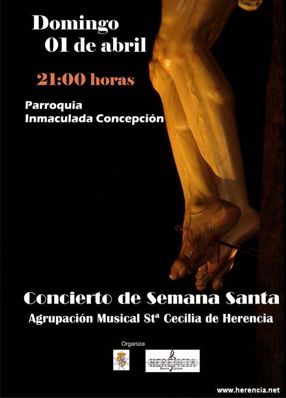 concierto semana santa 2012 - Concierto de la Agrupación Musical Santa Cecilia de Herencia