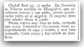 extracto diario 25 julio 1930 - herencia