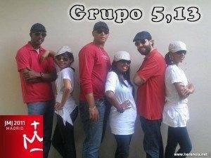 foto grupo 5 13 300x225 - Nueva canción del mercedario Santiago Rodríguez- Palancas con el Grupo 5,13