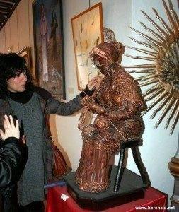 herencia jesus madero escultura y concejal cultura