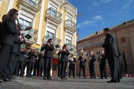 Agrupaci%C3%B3n Musical Santa Cecilia 5 465x311 - Fotogalería del II Encuentro Local de Bandas de Cornetas y Tambores de Herencia