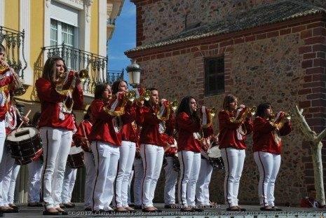 Banda de CC y TT del Prendimiento de Jes%C3%BAs 6 465x311 - Fotogalería del II Encuentro Local de Bandas de Cornetas y Tambores de Herencia