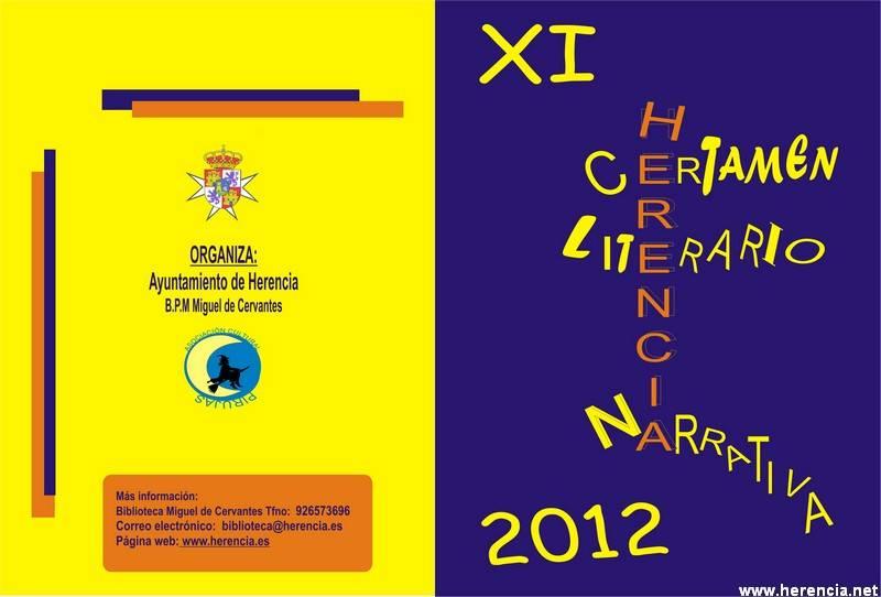 Bases certamen narrativa 2012 - Todo preparadado para el Certamen Literario y Mercadillo del Libro del Libro