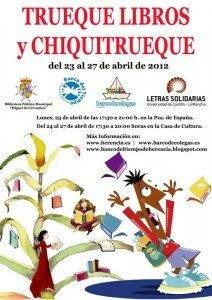 Cartel Mercado Trueque de Libros Herencia