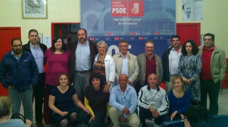 NUEVA EJECUTIVA HERENCIA - José Manuel Bolaños es reelegido secretario general del PSOE de Herencia