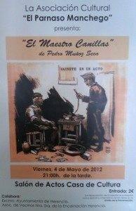 Teatro El Maestro Canillas 194x300 - Teatro solidario en beneficio de las obras de la ermita de la Encarnación