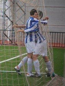 celebraci%C3%B3n gol infantiles Herencia 227x300 - ¡A la final! Calzada de Calatrava 1 – SMD Herencia 5