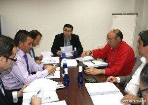 emaser a marzo 300x212 - Reunido el Consejo de Administración de EMASER