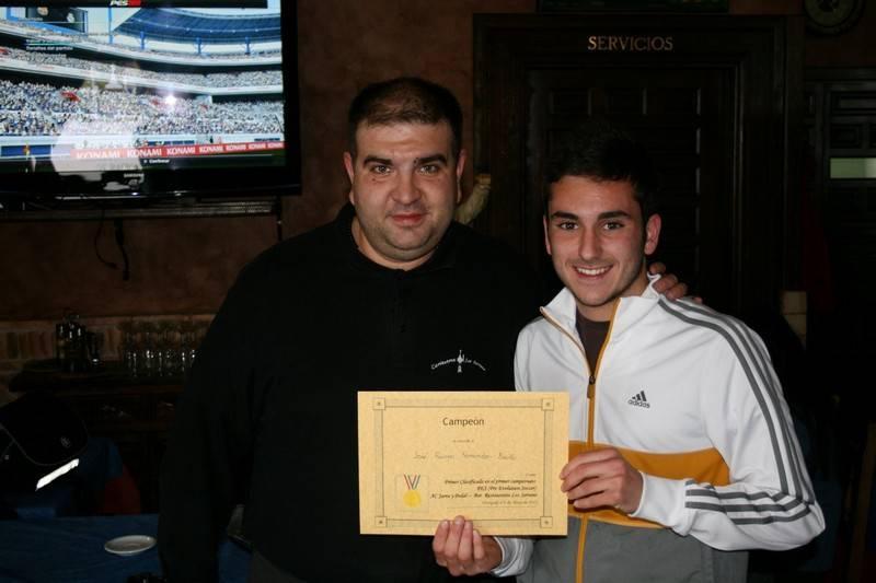 Campeonato de PES3 1 - José Romero se alzó con el Campeonato de PES 2012