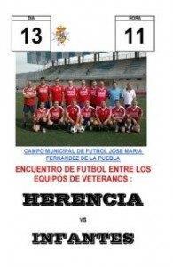 Cartel futbol veteranos 195x300 - Fútbol veteranos: Herencia - Infantes