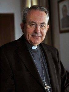 Don Antonio Algora, obispo de Ciudad Real