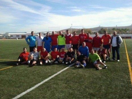 Equipo futbol veteranos Herencia