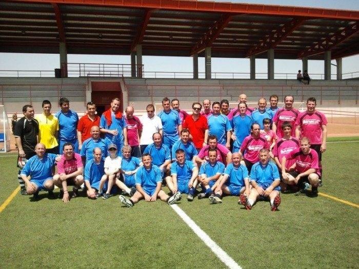 Fútbol veteranos: Herencia 3-1 Infantes