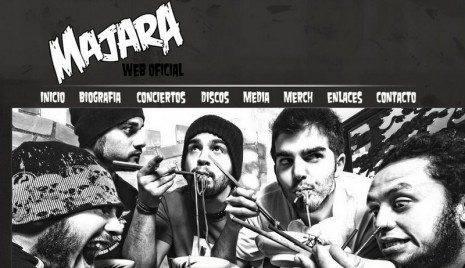 Web oficial de Majara 465x268 - Majara grabará su nuevo disco en los estudios Westline de Madrid