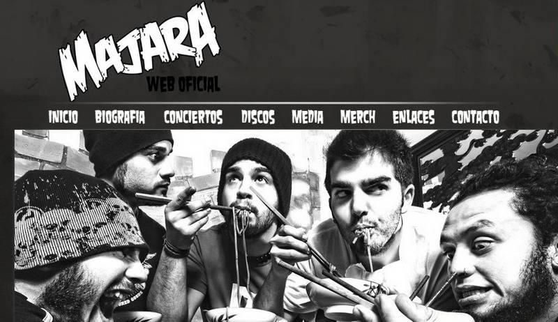 Web oficial de Majara