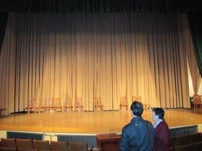Teatro-auditorio del colegio Santa Rosa de Villarrubia de los Ojos