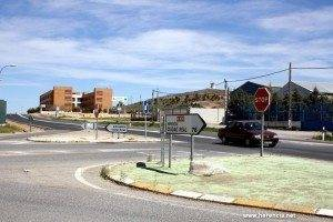 herencia entronque de la futura rotonda 300x200 - El Ayuntamiento de Herencia trabaja en la memoria de las obras de la nueva rotonda de acceso al polígono industrial