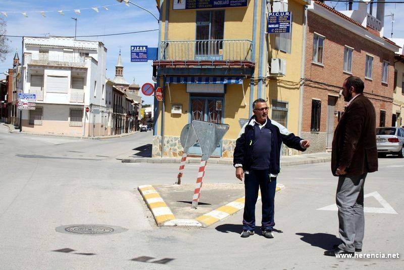 herencia saturnino ortega y alcalde donde ira la rotonda - Proyectada una nueva rotonda en el barrio de San Antón