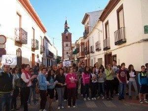 Huelga en los Centros Educativos de Herencia 1