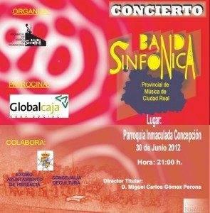 Cartel del Concierto Banda Sinf%C3%B3nica Provincial en Herencia 295x300 - Concierto de la Banda Sinfónica Provincial en Herencia