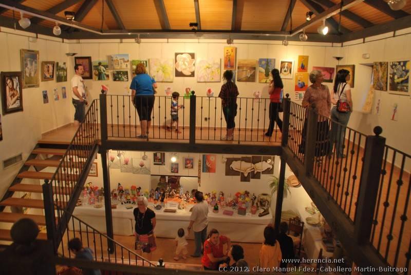Exposición fin de curso Universidad Popular de Herencia 2012