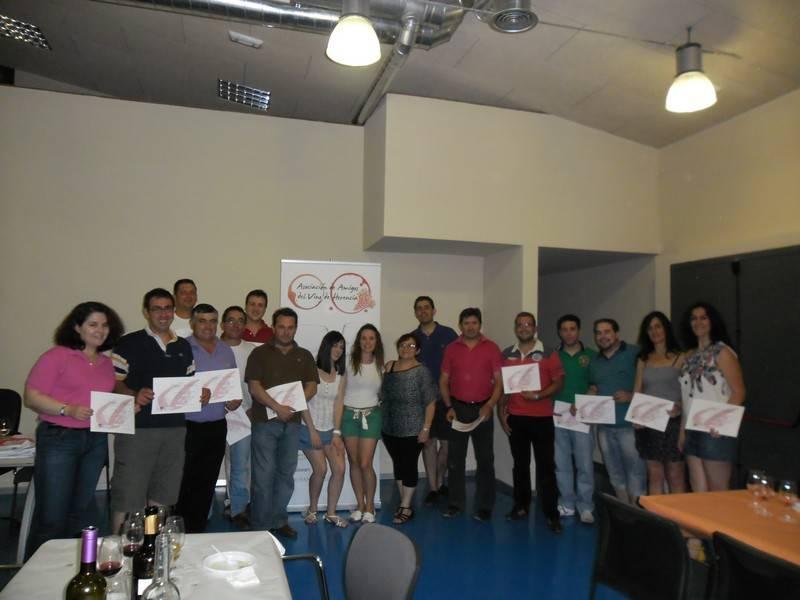 Curso de Iniciación a la Cata de Vinos - Rotundo éxito del I Curso de iniciación a la Cata de vinos