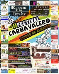 II Festival Carnavalero Almaden - Los Pelendengues en Almadén