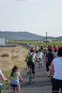 V Marcha en bicicleta contra el Cáncer