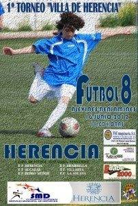 """Torneo futbol8 Herencia 202x300 - I Torneo de fútbol 8 alevín y benjamín """"Villa de Herencia"""""""