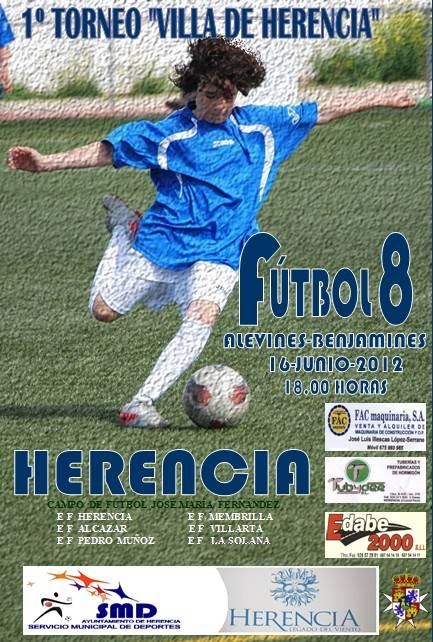 I Torneo fútbol 8 Herencia