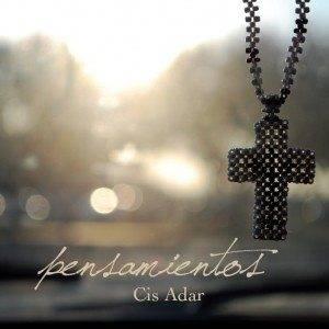"""Caratula disco """"Pensamientos"""" de Cis Adar"""