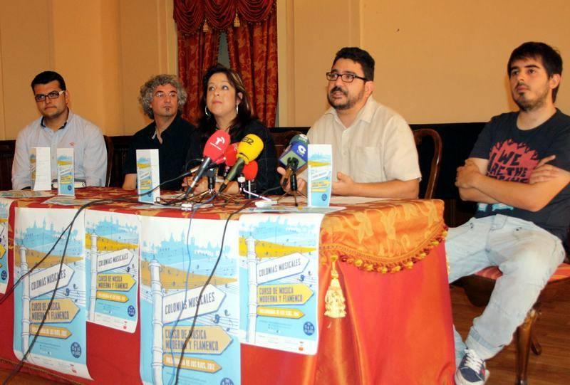 Guillermo Martín participa en el proyecto de colonias musicales de Villarrubia de los Ojos 2