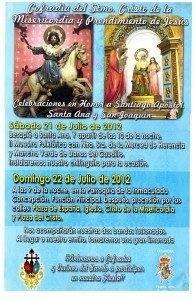 Carte Fiestas Santiago San Joaqu%C3%ADn y Santa Ana 195x300 - Fiestas en honor a Santiago Apóstol, Santa Ana  y San Joaquín