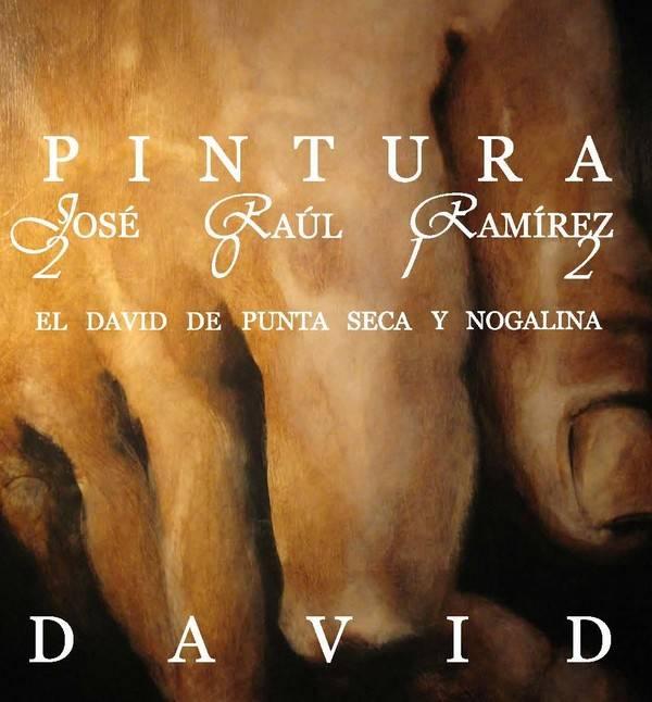 Cartel exposicion José Raul Ramírez en Herencia