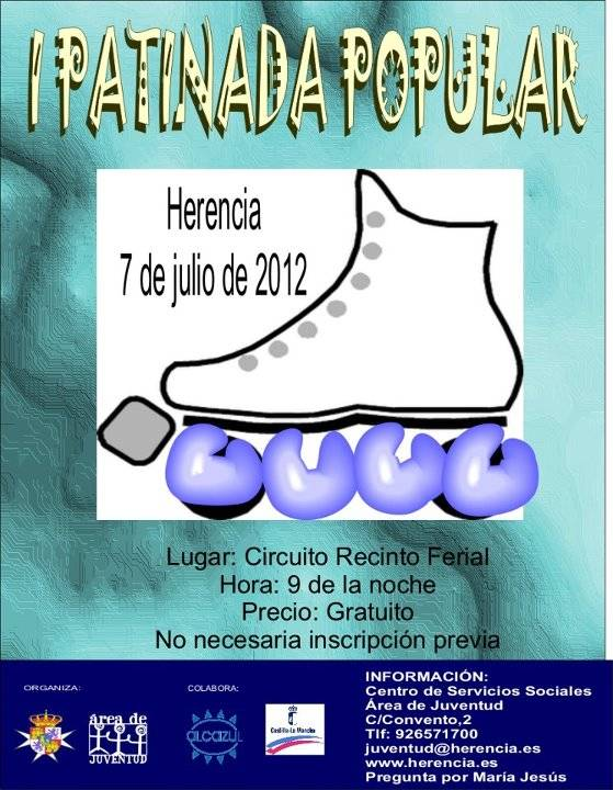 I Patinada Popular de Herencia - I Patinada Popular de Herencia