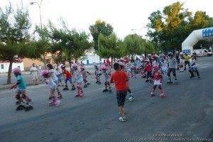 Primera patinada popular de Herencia