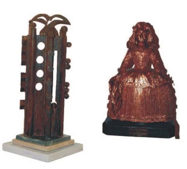esculturas de jesus madero - Herencia rinde homenaje a su gran artista Jesús Madero