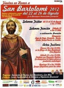 Fiestas en honor a San Bartolomé 2012