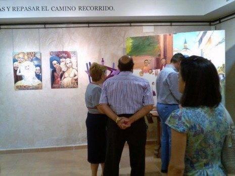 Herencia exposicion Jesus Madero 465x348 - Inaugurada la restrospectiva en honor al artista Jesús Madero