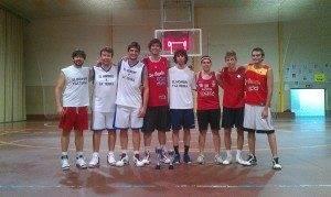 Participantes 3x3 de baloncesto de Herencia 300x179 - Crónica del 3x3 Nocturno de baloncesto