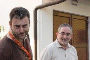 D. Rafael Ruiz junto a D. Julian Martín