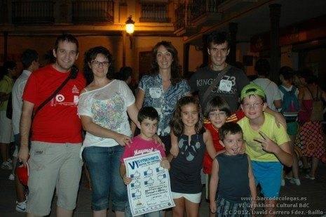 Ganadores Categoría de Adultos de la VI Gymkhana Barco de Colegas
