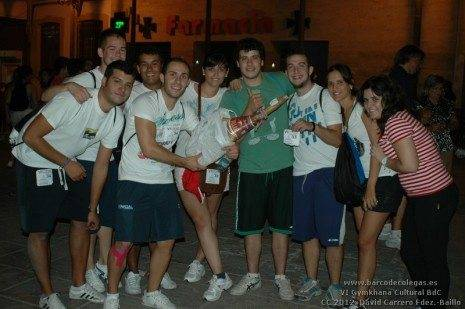 Ganadores del Jamón de la VI Gymkhana Barco de Colegas