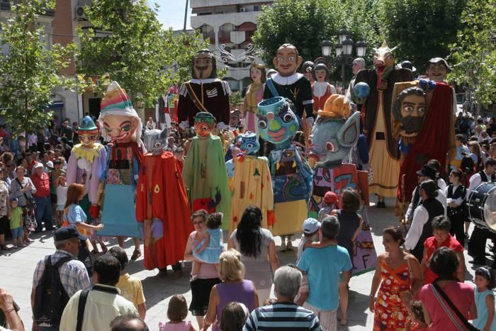 XXII Fiesta Gignatera de Leganes - Los Gigantes de Herencia participaron en la XII Fiesta Gigantera de Leganés