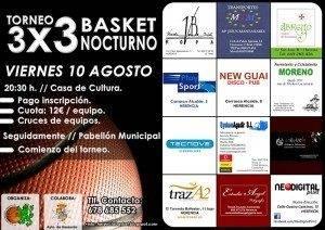 Torneo 3x3 de baloncesto