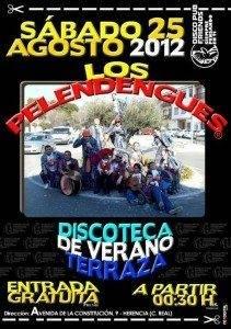 Los Pelendengues actúan este sábado en disco Friends 1