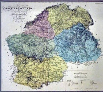CASTILLA LA NUEVA 21 - Herencia en los mapas