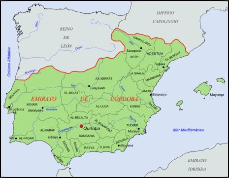 Coras_del_Emirato_de_Córdoba